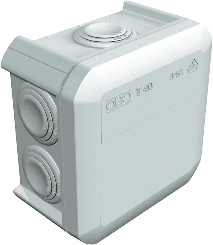 DOZA DE DERIVATIE 90x90x52 gri IP55