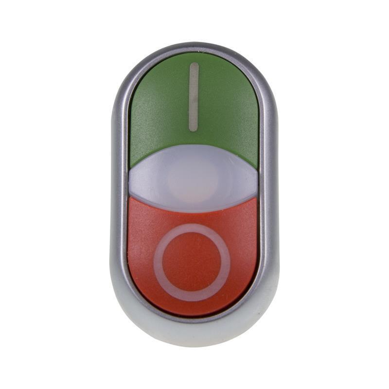 BUTON DUBLU M22-DDL-GR-X1/X0