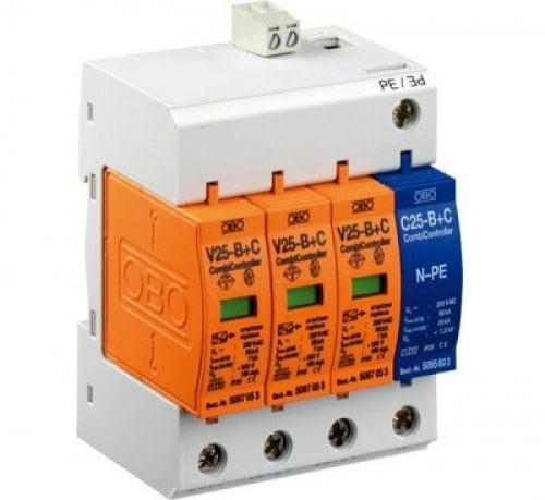 DISPOZITIV COMBICONTROLER V25 3+1 V25-B+C 3+NPE-FS 280V