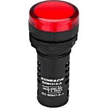 LED MONOBLOC 170-250VAC ROSU