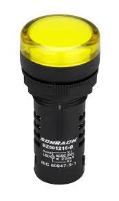 LED MONOBLOC 230V-AC/DC GALBEN