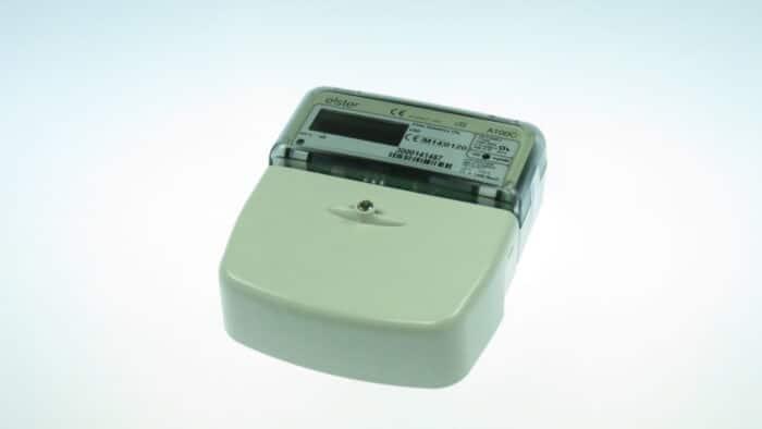 Contor electronic monof