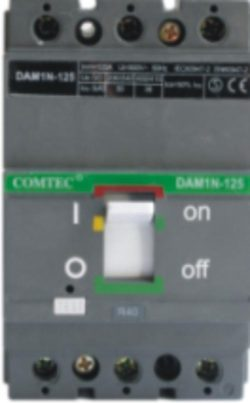 Intrerupator automat MCCB 3P COM-BB N125