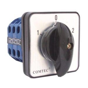 COMUTATOR CAME 1-0-2 3P 25A COMTEC