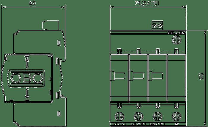 Dispozitiv Combicontroler V25 3+1 V25-B+C TFJHVBAT7HNFIJLMQPAK6JFG 5094765 MZ1 1