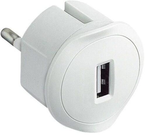 INCARCATOR RETEA USB 1.5A ALB