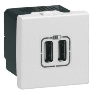 Priza dubla USB 5V 1500 mA Legrand
