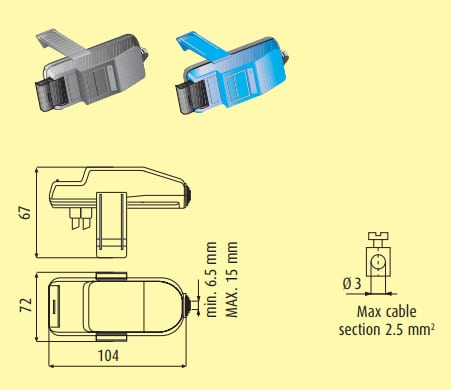 Selector de faza HL 16A fuzibil 5×20 71005030 3