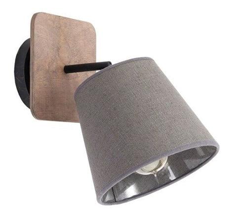 Aplica lemn/textil Nowodvorski Awinion 9718 ger pl Kinkiet sufitowa AWINION I drewno nowosc 9718 8410 3
