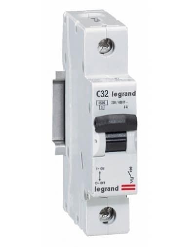 Intrerupator Automat RX3 Legrand 1P C32 4500A 1 Modul 419667 1