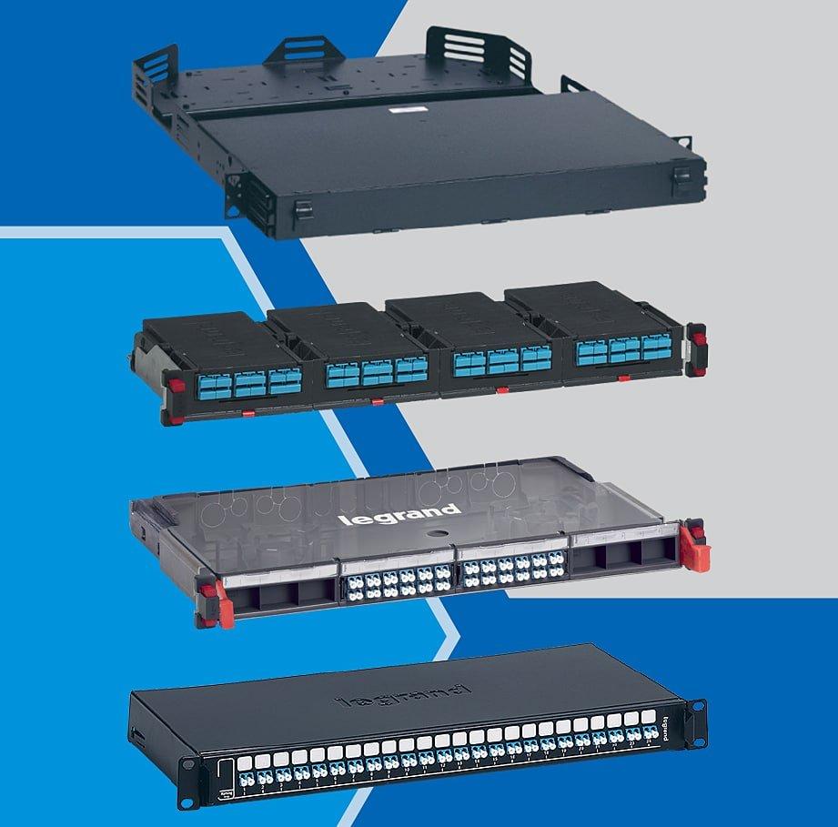 Patch panel fibra: modulare (HD, UHD) si standard