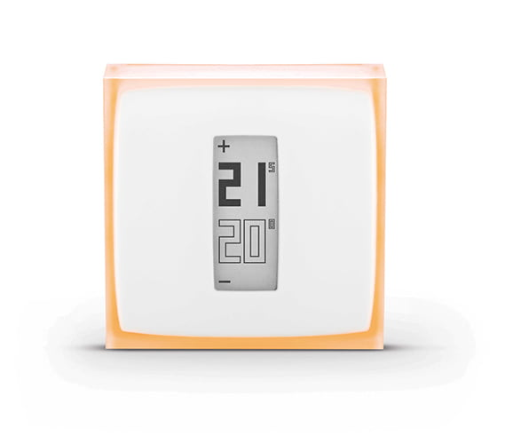 Termostat inteligent pentru centrale termice si pompe de caldura, Netatmo Thermostat Face WEB