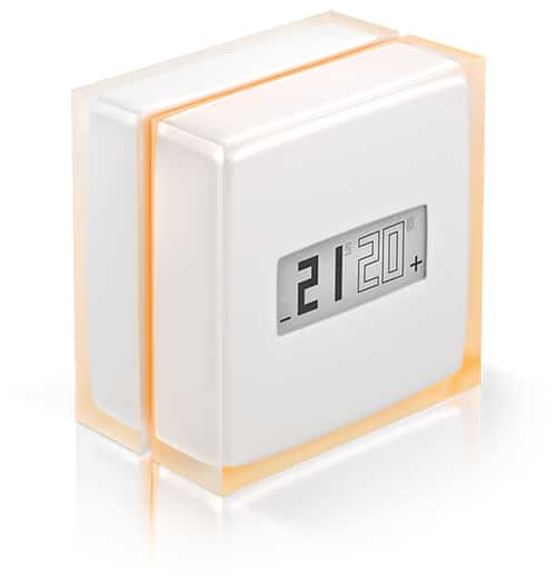 Termostat inteligent pentru centrale termice si pompe de caldura, Netatmo Thermostat transp WEB