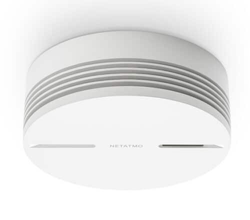 Detector inteligent de fum cu alerta smartphone, Netatmo detector inteligent de fum 1