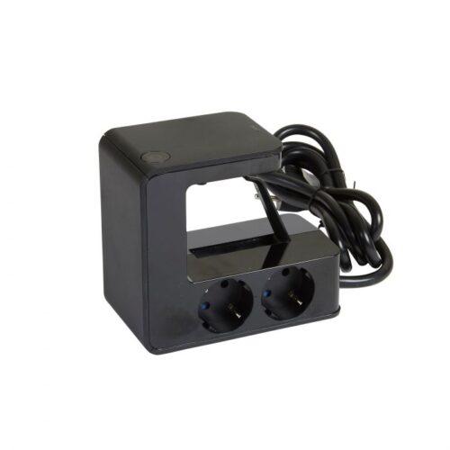 Bloc multipriza cu clipsare de blat, cu 4 schuko si 2 porturi USB 694812